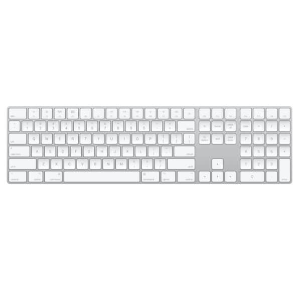 Apple bluetooth keyboard with numeric key pad
